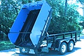 Dump insert for converting your flatbed trailer to a dump trailer!
