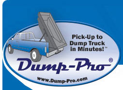 Dump-Pro® - The pickup truck dump insert to turn your pickup truck into a dump truck.