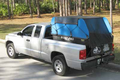 Compact Dump-Pro with Hi-Sides and Tarp & Bungee option