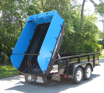 Here's a Dump-Pro dump insert installed on a trailer.